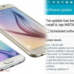 AT&T Samsung Galaxy S6 Getting new Software Update