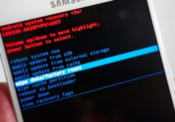 reset Samsung Galaxy S6