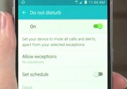 galaxy s6 do not disturb